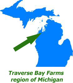 Traverse Bay Farms region of Michigan